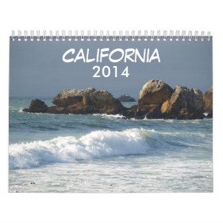 Calendario de California 2014