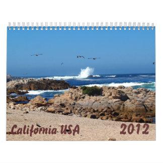 Calendario de California los E.E.U.U.