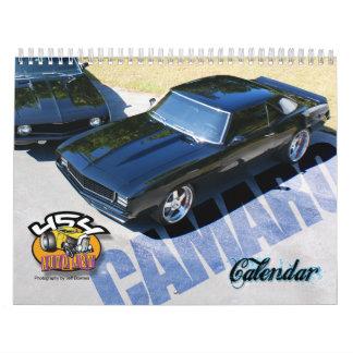 Calendario de Camaro