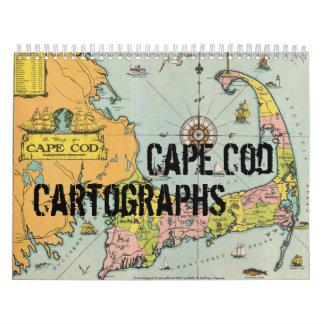 Calendario de Cape Cod Cartographs