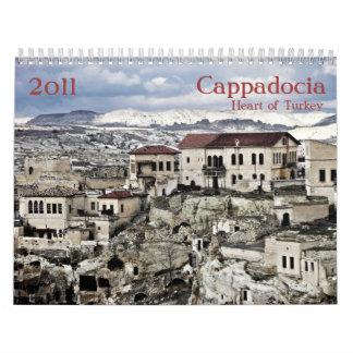Calendario de Cappadocia Turquía 2011