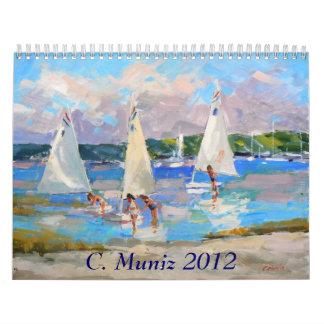 Calendario de Carleen Muniz 2012