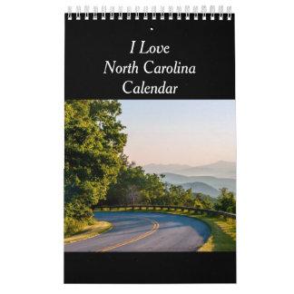 Calendario de Carolina del Norte Scenice