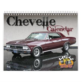 Calendario de Chevelle