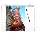 Calendario de Chicago 2012