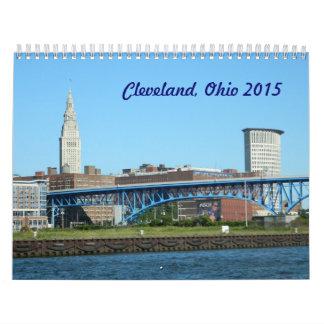 Calendario de Cleveland, Ohio 2015