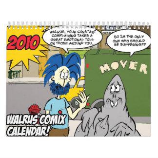 Calendario de Comix 2010 de la morsa