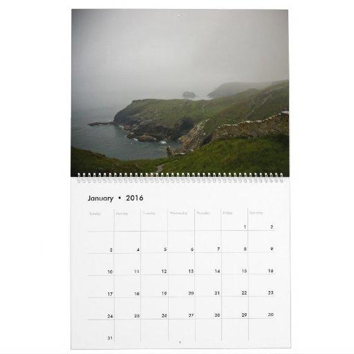 Calendario de Cornualles 2009
