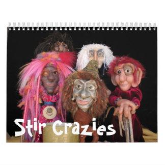 Calendario de Crazies 2012 del Stir