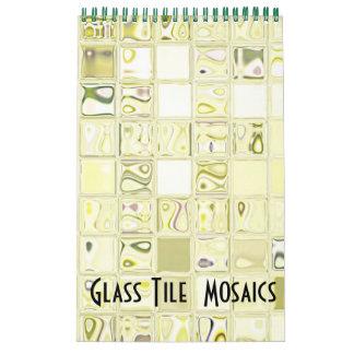 Calendario de cristal del personalizable 2012 de l