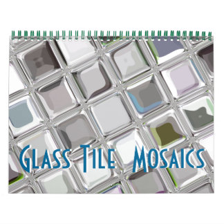 Calendario de cristal del personalizable de los mo