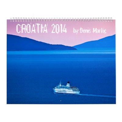 Calendario de Croacia 2014