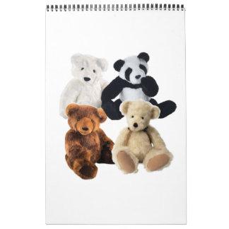 Calendario de cuatro osos