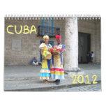 Calendario de Cuba 2012