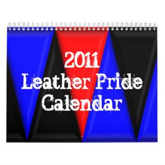 Calendario de cuero del orgullo 2011