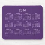 Calendario de Deep Purple 2014 Tapetes De Ratón