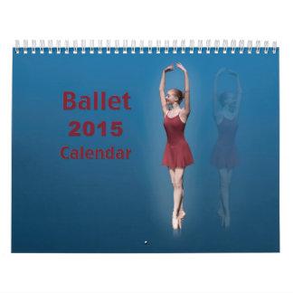 Calendario de doce meses del ballet 2015