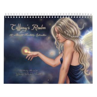 Calendario de doce meses del reino de Tiffany