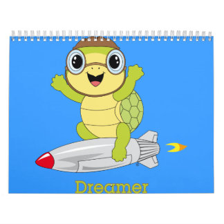 Calendario de Dreamer™ de la tortuga
