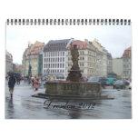 Calendario de Dresden Alemania 2012