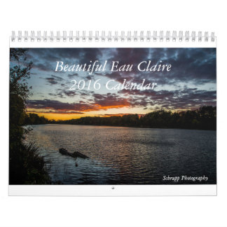 Calendario de Eau Claire Wisconsin 2016