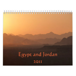 Calendario de Egipto y de Jordania 2011