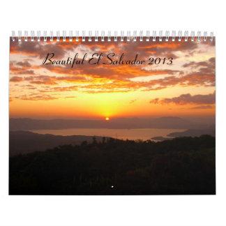 Calendario de El Salvador 2013