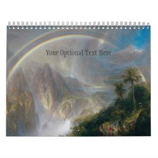 Calendario de encargo 1 de las bellas arte