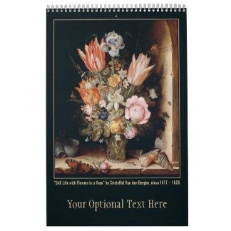Calendario de encargo 2 de las bellas arte