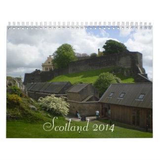 Calendario de Escocia 2014