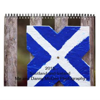 Calendario de Escocia 2015 y de Irlanda