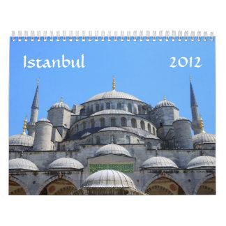 Calendario de Estambul 2012