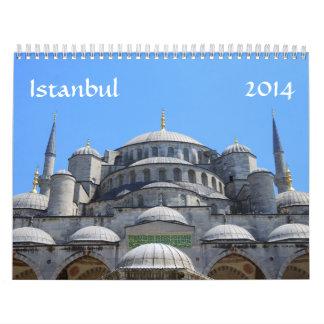 Calendario de Estambul 2014