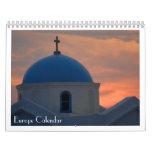 Calendario de Europa