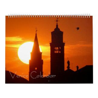 Calendario de Europa - Venecia, Italia