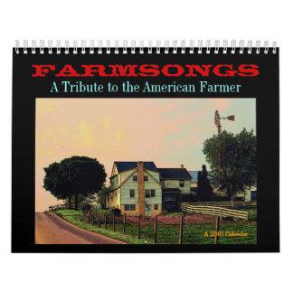 Calendario de Farmsongs 2010