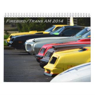 Calendario de Firebird/transporte 2016