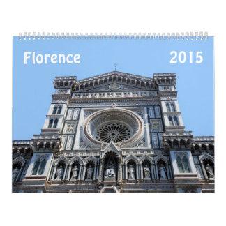 Calendario de Florencia, Italia 2015