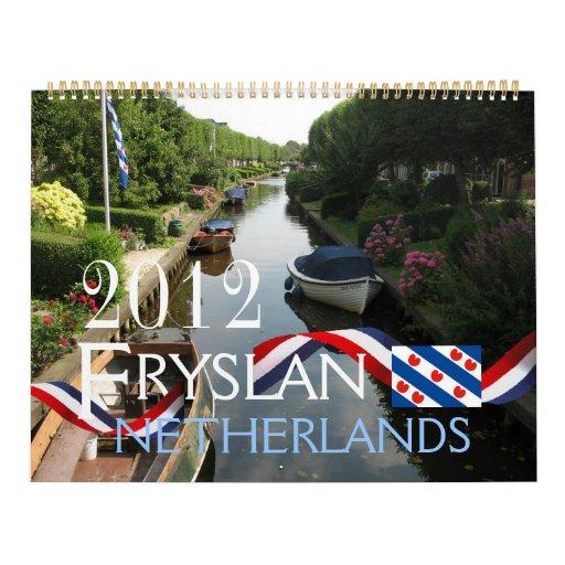 Calendario de Fryslan/Frisia 2012