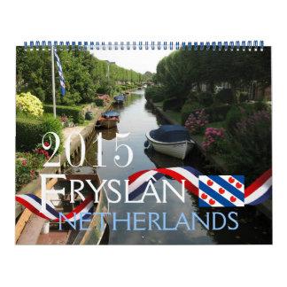 Calendario de Fryslan/Frisia 2015
