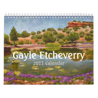 Calendario de Gayle Etcheverry 2011