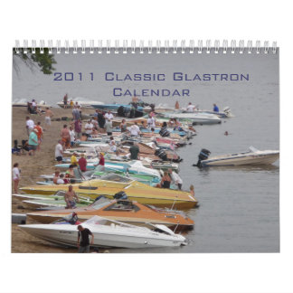 Calendario de Glastron de 2011 obras clásicas