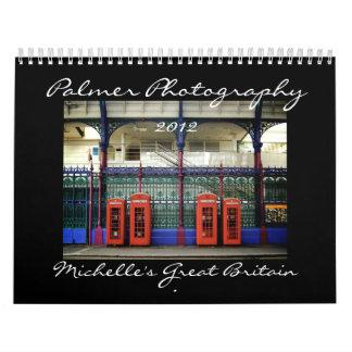 Calendario de Gran Bretaña 2012 de Michelle