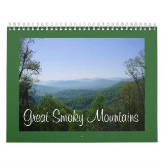 Calendario de Great Smoky Mountains