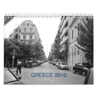 Calendario de Grecia 2010