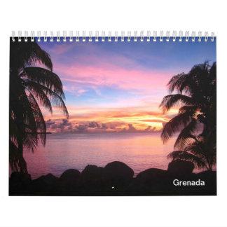 Calendario de Grenada