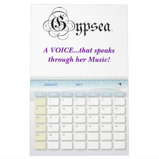 Calendario de GYPSEA 2008