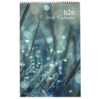 calendario de h2o 2012