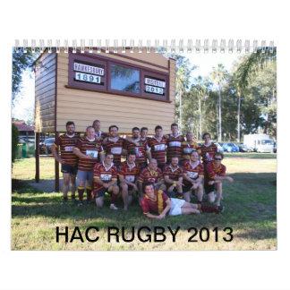 Calendario de HAC 2013