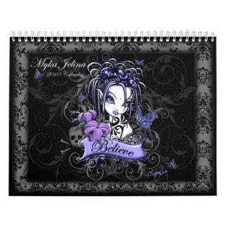 Calendario de hadas 2010 del arte de la fantasía